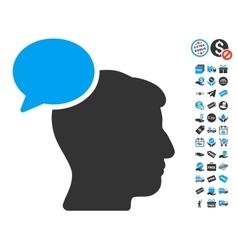 Person Idea Icon With Free Bonus vector