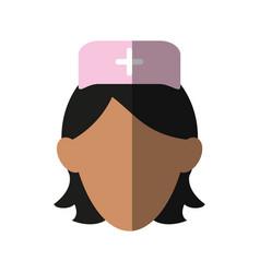 nurse icon image vector image vector image