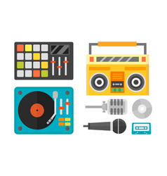 creative modern musical instrument concept midi vector image vector image