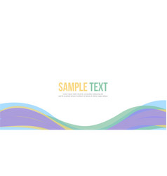 Abstract design banner website header vector