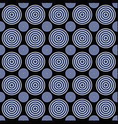 abstract seamless circle pattern background vector image
