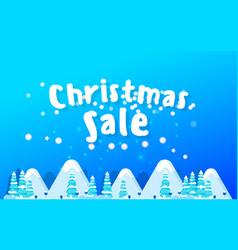 christmas banner xmas snowflakes vector image