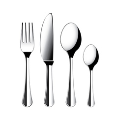 Object cutlery vector