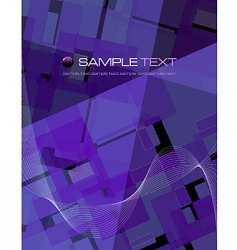 purple abstract composition vector image
