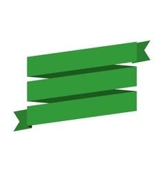Ribbon banner icon image vector