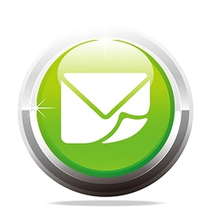 e-mail contact message design icon vector image