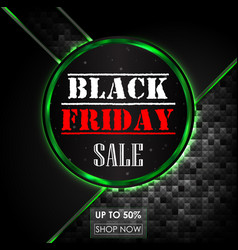 black friday sale abstract background vector image vector image