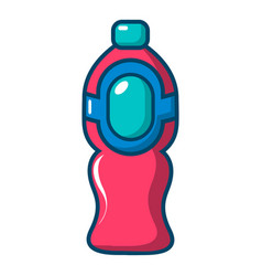 bottle juice icon cartoon style vector image vector image