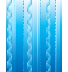 abstract background of blue stripes vector image vector image