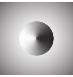 Abstract metallic background with round vector image