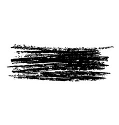 ink chalk stroke vector image
