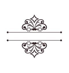 Luxury floral decorative logo boutique hotel vector