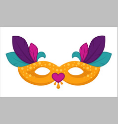masquerade disguise clothing attribute masque with vector image