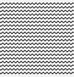 seamless pattern wave lines vector image