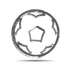 The soccerball vector