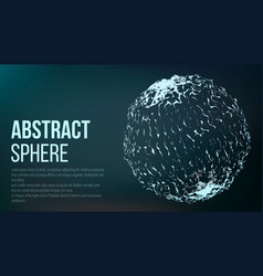 abstract sense of science graphic design abstract vector image vector image
