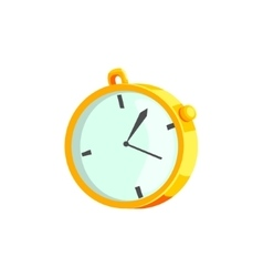 Mechanical Stopwatch Drawing vector image vector image