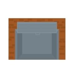 open garage door icon image vector image vector image
