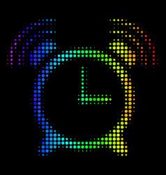 Colored dot buzzer icon vector
