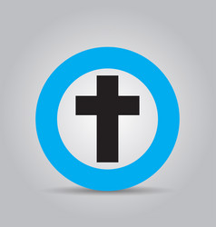 icons crosses logo vector image