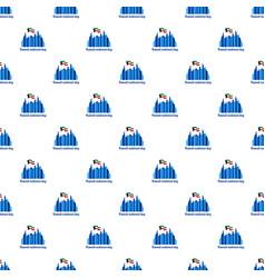 kuwait national holiday background flat style vector image
