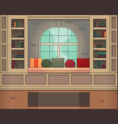 modern room vector image
