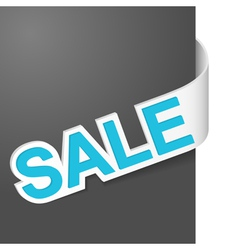 right side sign sale vector image