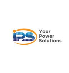 solar power solutions logo design modern vector image