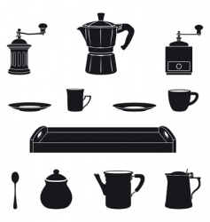 Italian coffee vector image vector image