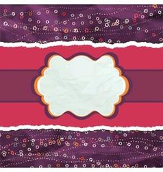 Valentines Copycard Card vector image vector image