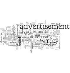 Advertisement is it that effective vector