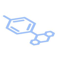Biology formula icon isometric style vector