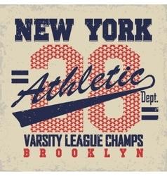 Brooklyn t-shirt graphics vector