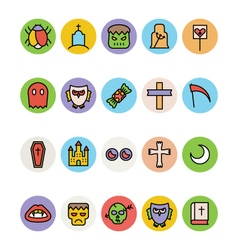 Halloween Icons 4 vector