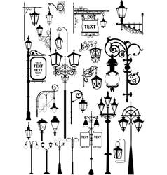 Lanterns vector