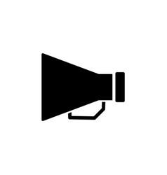 loudspeaker icon stock flat design style vector image
