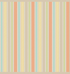 pastel baby color fun striped seamless background vector image