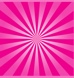 Pink ray retro background vector