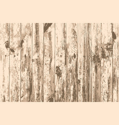 Texture of realistic old wooden wall vector