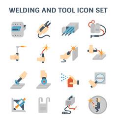Welding icon vector