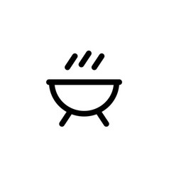 barbeque bbq icon vector image