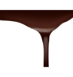 Chocolate flow vector