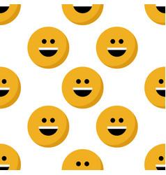 Emoji seamless pattern vector