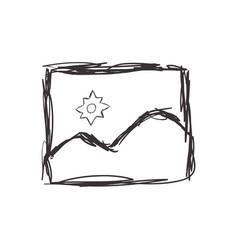 Figure picture symbol icon design vector
