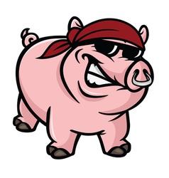 Hog wild vector