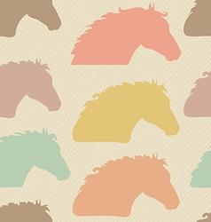 HorseHead9 vector image