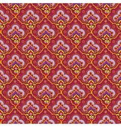 Indian seamless ethnic pattern vector