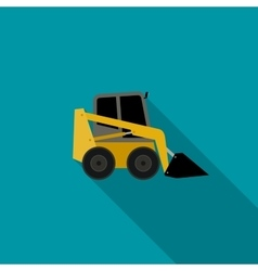 Loader flat icon vector image