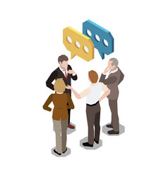 Work group conversation composition vector