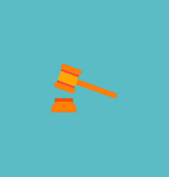 hammer icon flat element of vector image